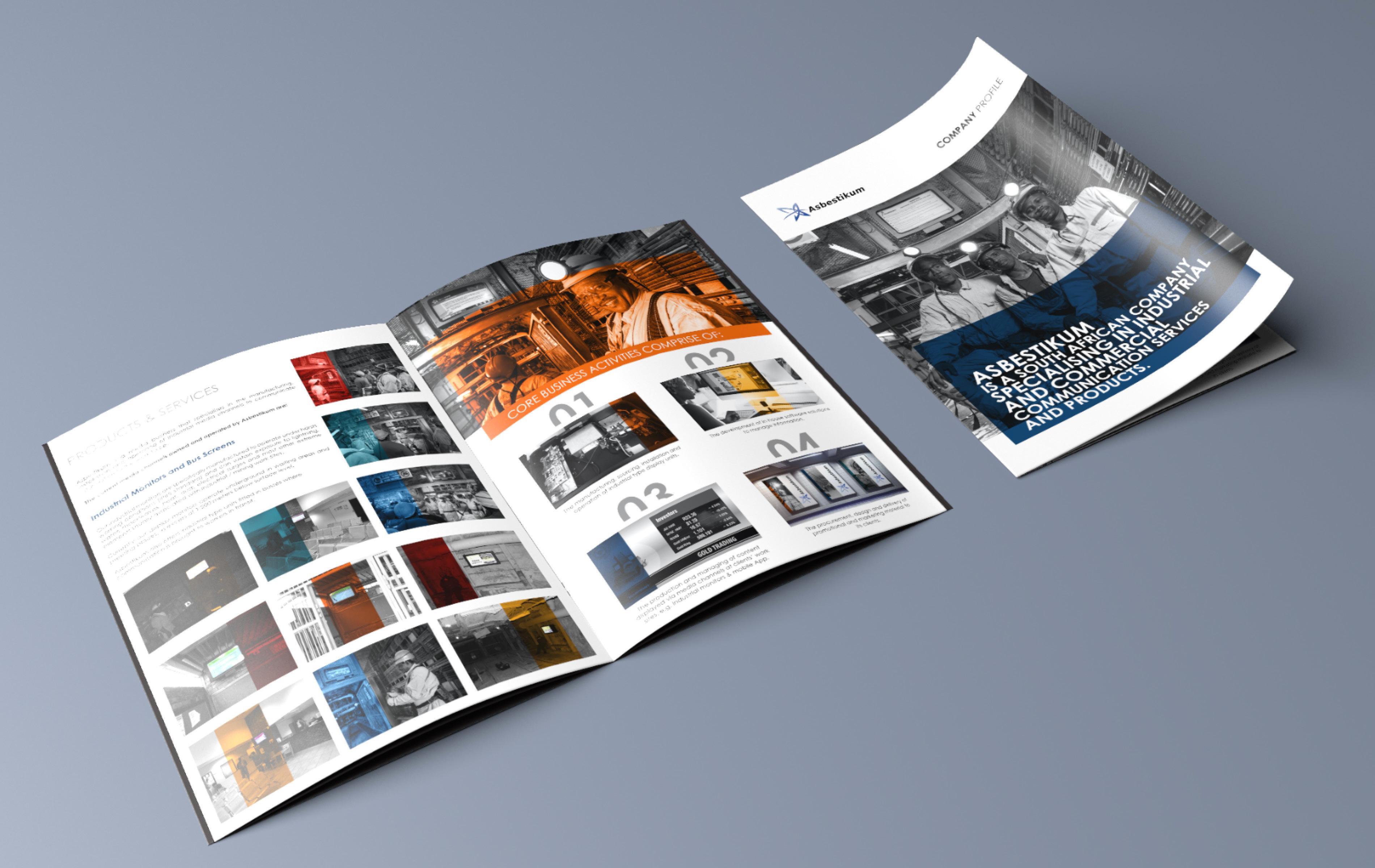 Asbestikum – graphic design