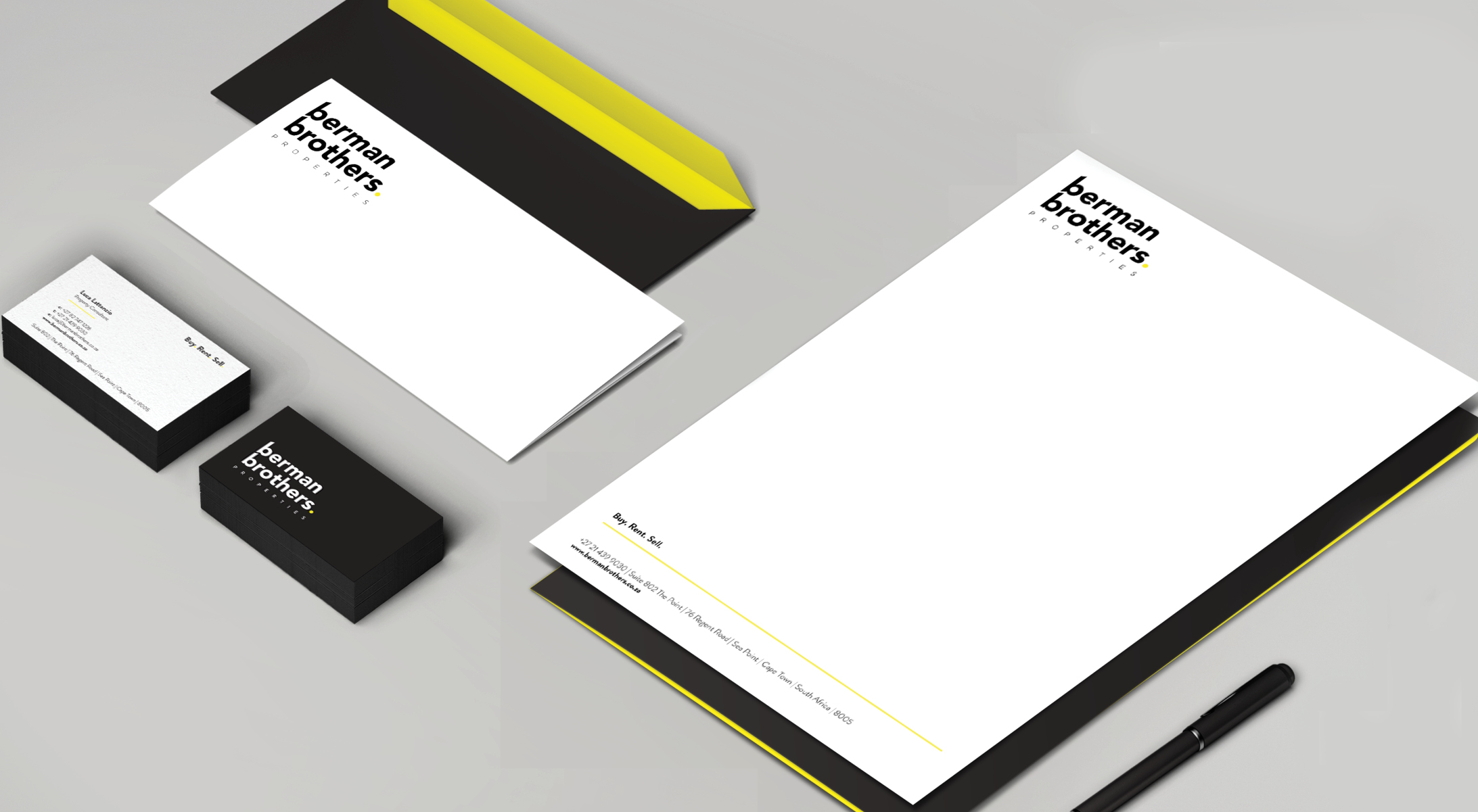 berman brothers – identity design