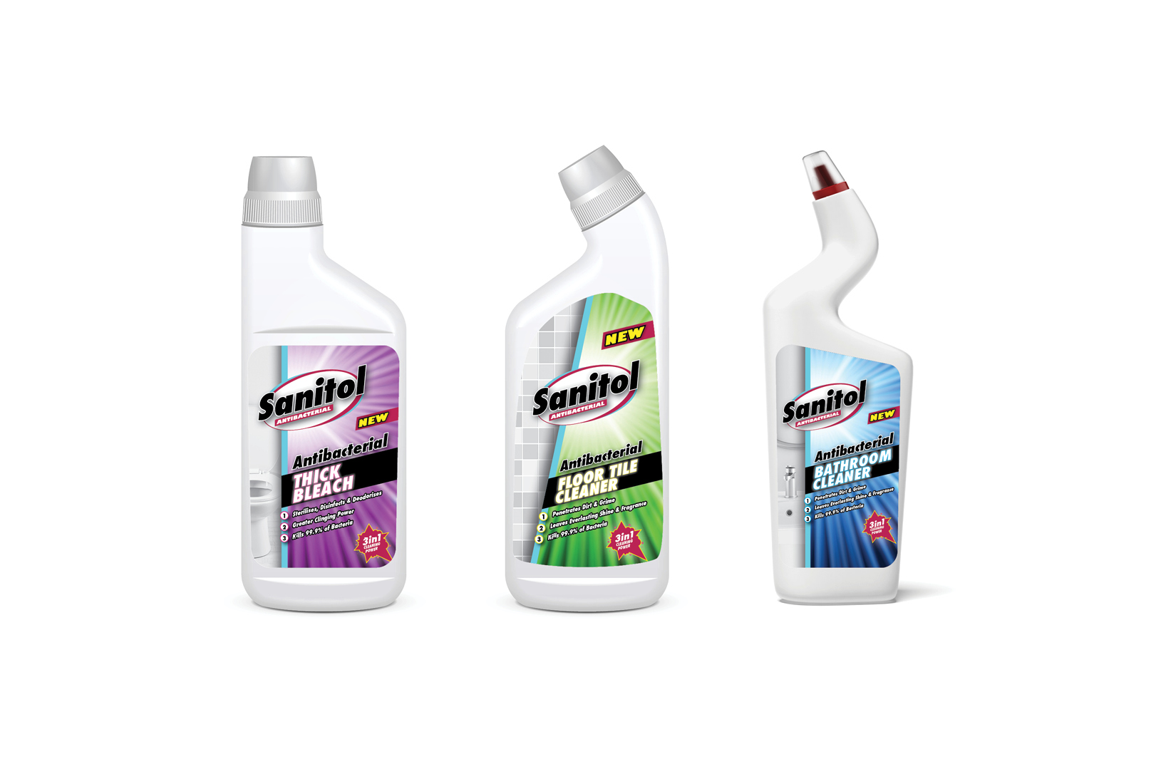 sanitol – packaging design