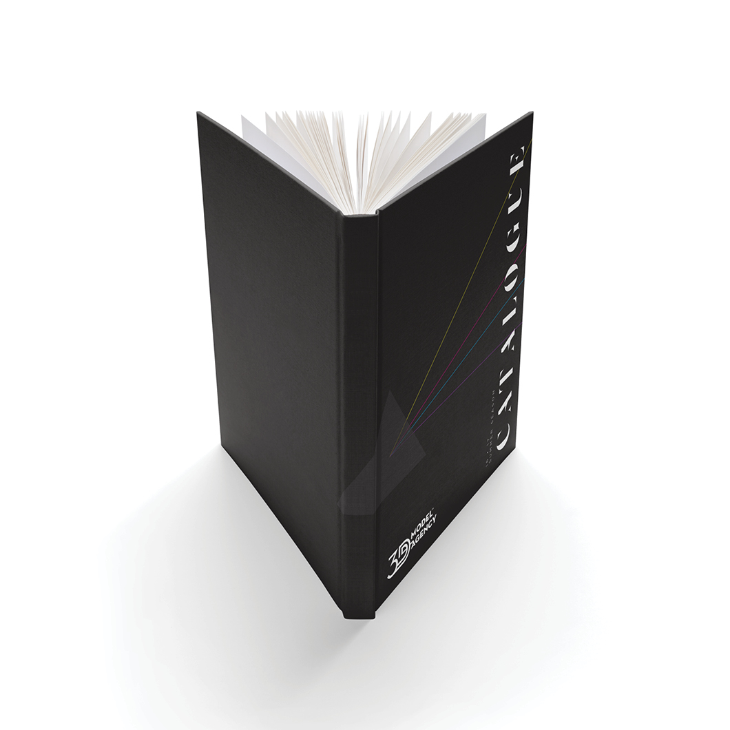 3d model agency – book design