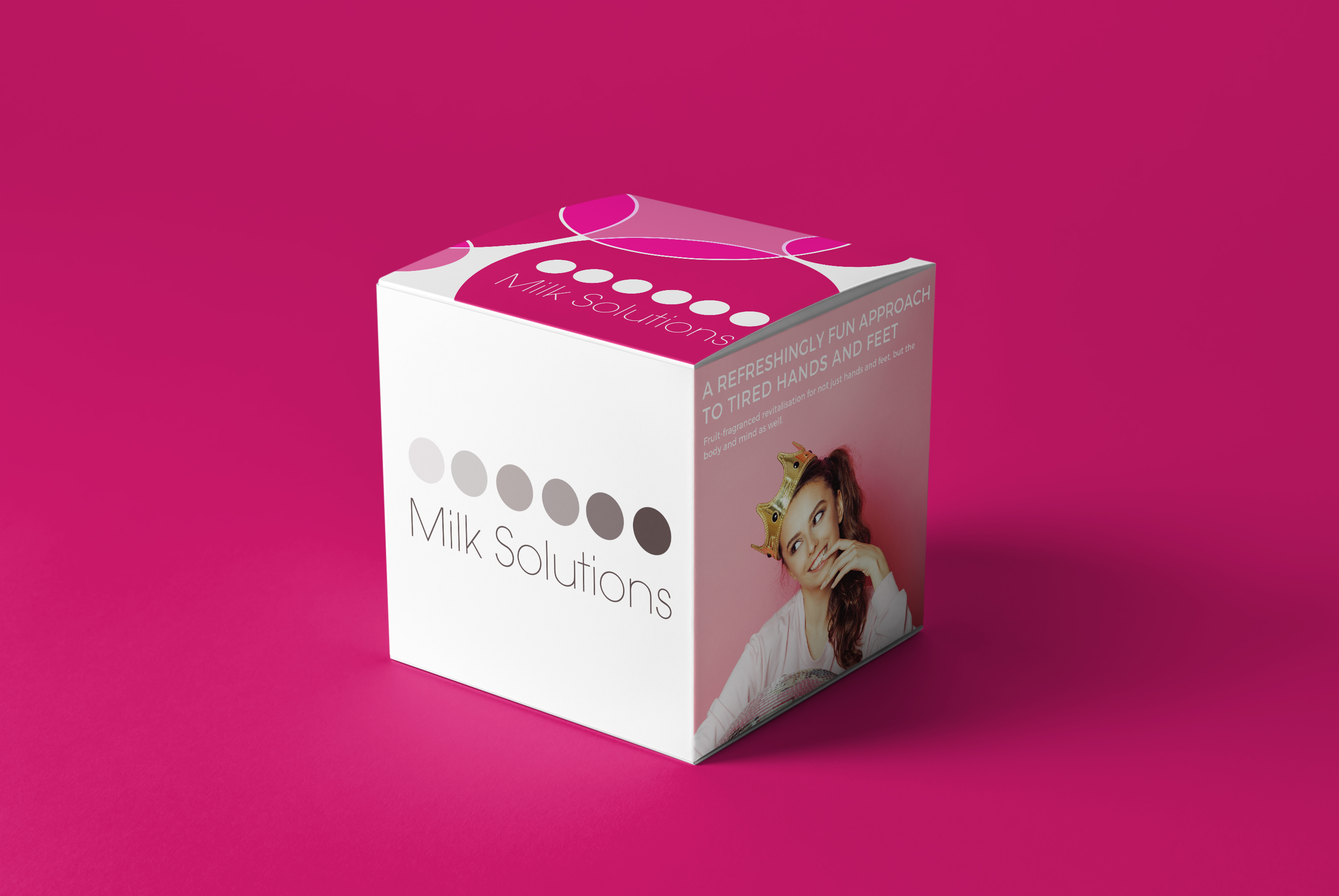 milk solutions – packaging design